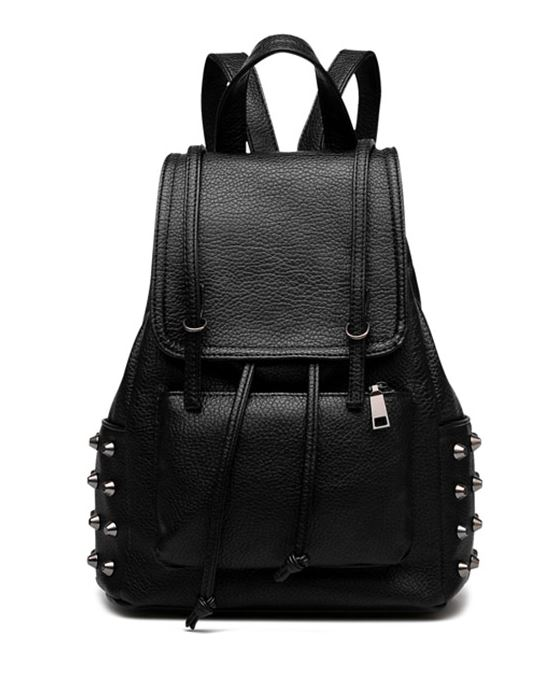 Multi purpose rivets studded backpack